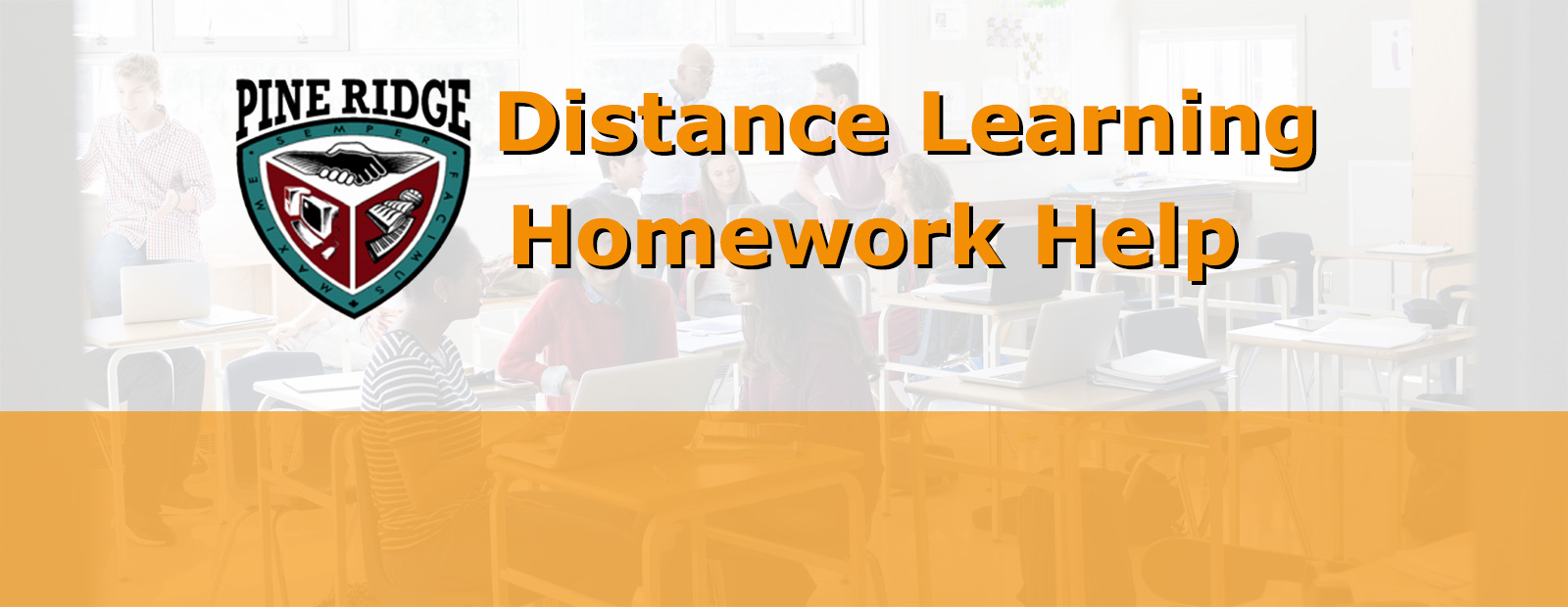Distance Learning Homework Help