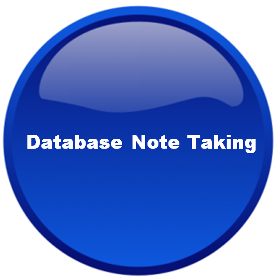 Database Note Taking