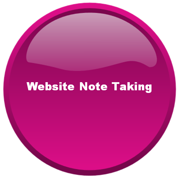 Website Note Taking