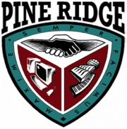Pine Ridge Secondary School logo